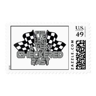 I've Lead A Very Checkered Past Postage