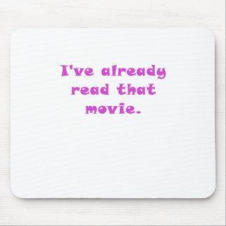 Ive leyó ya esa película tapete de raton
