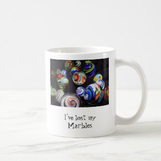 I've lost my Marbles Classic White Coffee Mug