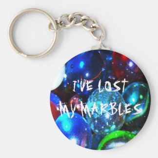 I've Lost My Marbles Key Chain