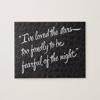 I've Loved The Stars Jigsaw Puzzle