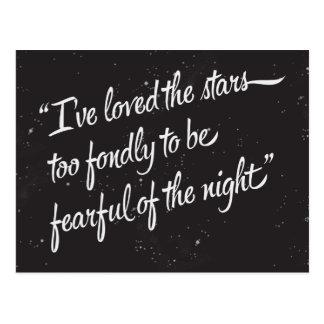 I've Loved The Stars Postcard