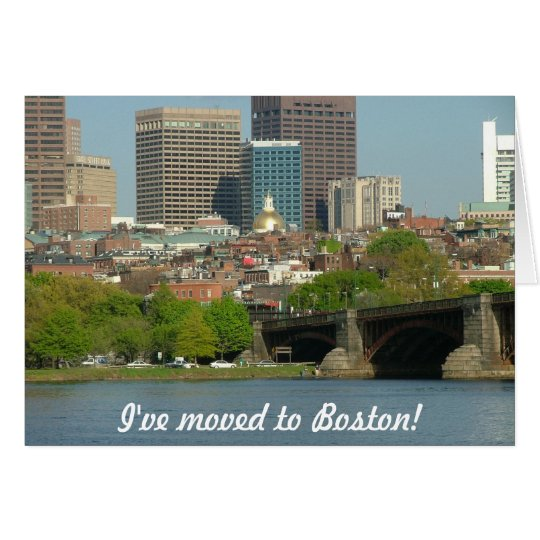 I've moved to Boston Card