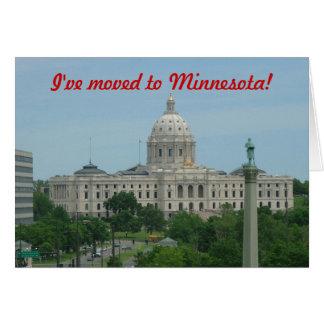I've moved to Minnesota Card