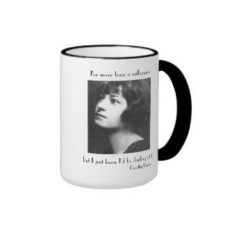 I've Never Been a Millionaire Ringer Coffee Mug