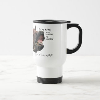 I've never been troubled by Insanity Horse Mugs