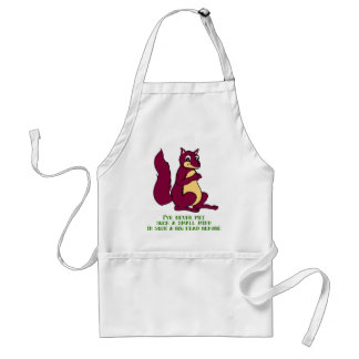 I've never met such a small mind ... adult apron