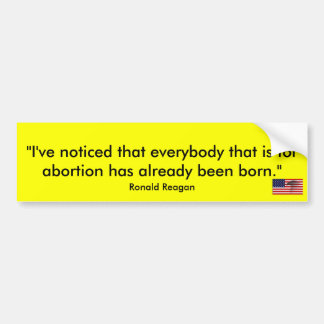 """""""I've noticed that everybody that is f... Bumper Sticker"""