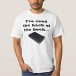 I've read the back of the book and we win! Shirt