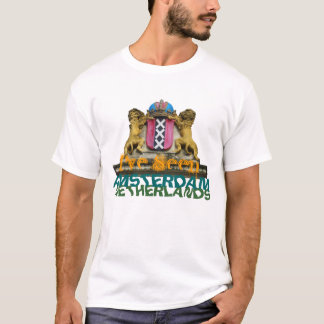 I've Seen Amsterdam Coat of Arms Text T-Shirt