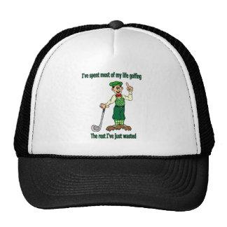 I've spent most of my life golfing trucker hat