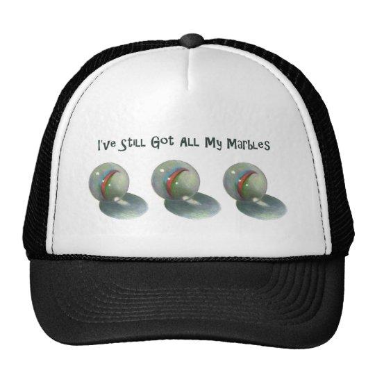 I've Still Got All My Marbles: Color Pencil Art Trucker Hat