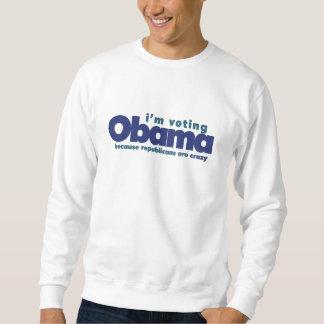 I've voting OBAMA Sweatshirt