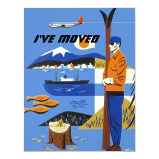 I've We've Moved Announcement plane skis mtns