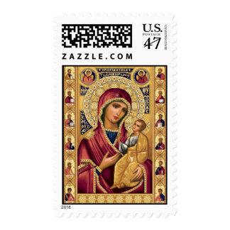 Iveron Theotokos - Postage