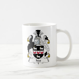 Ives Family Crest Coffee Mug