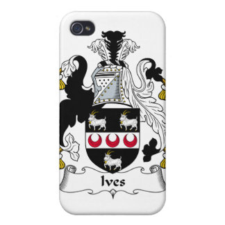 Ives Family Crest iPhone 4/4S Cases