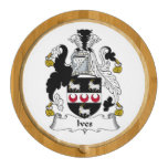 Ives Family Crest Round Cheeseboard