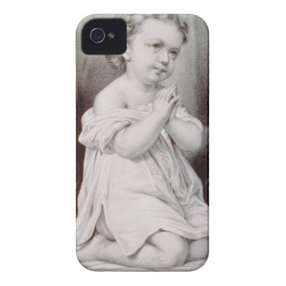 Ives First Prayer Christmas 1897 WoW iPhone 4 Cover