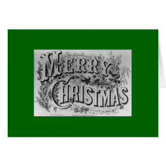 Ives Merry Christmas Card