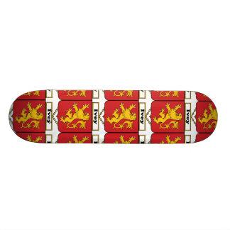 Ivey Family Crest Custom Skateboard