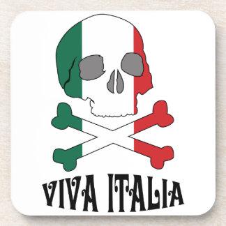 Ivia Italia Skull Beverage Coaster