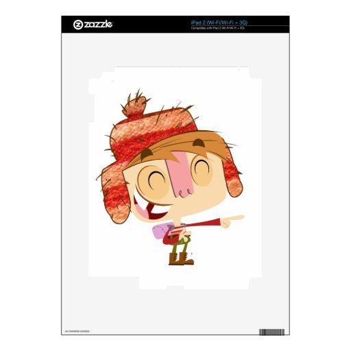 Ivick feliz iPad 2 skins