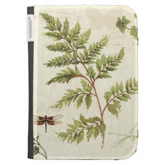 Ivies and Ferns Kindle 3 Covers