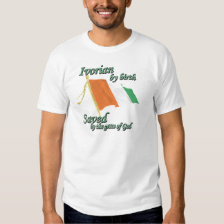 Ivorian by birth saved by the grace of God T-Shirt