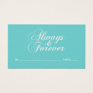 Ivory Always & Forever Wedding Place Cards