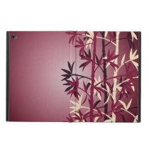 Ivory bamboo burgundy powis iPad air 2 case