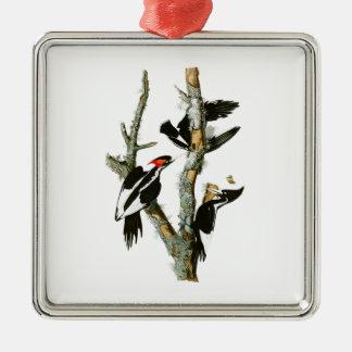Ivory-billed Woodpecker Audubon Birds of America Metal Ornament