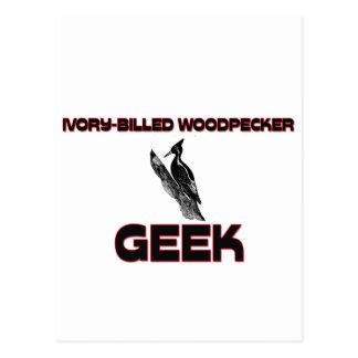 Ivory-Billed Woodpecker Geek Postcard