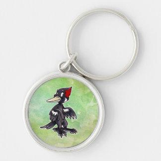 Ivory-Billed Woodpecker Keychain