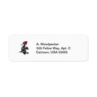 Ivory-Billed Woodpecker Label