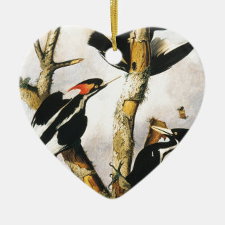 Ivory-billed Woodpeckers (Joseph Bartholomew Kidd) Ceramic Ornament