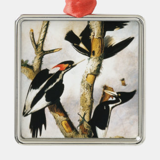 Ivory-billed Woodpeckers (Joseph Bartholomew Kidd) Metal Ornament