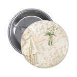 Ivory Bride Buttons