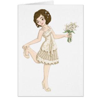 Ivory Bride Greeting Card