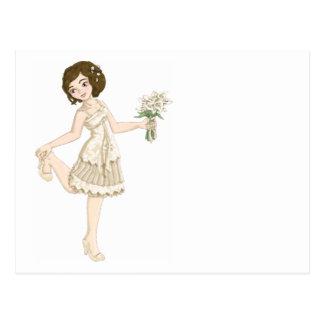 Ivory Bride Postcard