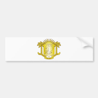 Ivory Coast Coat of Arms Bumper Stickers