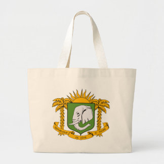 Ivory Coast Coat of Arms Tote Bag