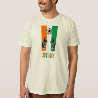 Ivory Coast Cote D'Ivoore soccer football 2010 T-Shirt