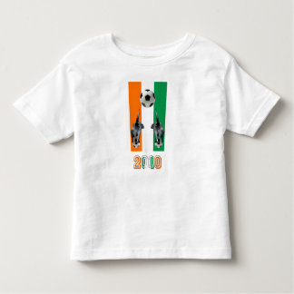 Ivory Coast Cote D'Ivoore soccer football 2010 Toddler T-shirt