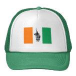 Ivory Coast Cote D'Ivore Soccer Flag Trucker Hat