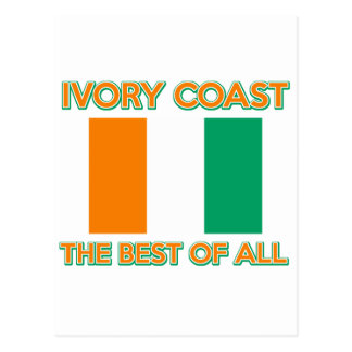 Ivory Coast design Postcard
