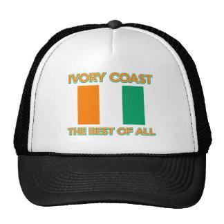 Ivory Coast design Trucker Hat