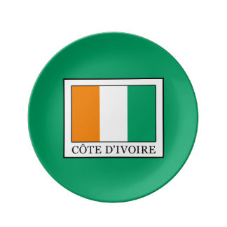 Ivory Coast Dinner Plate