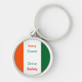 Ivory coast drive safely keychains