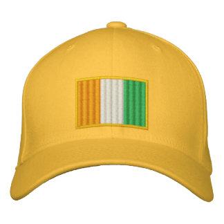 ivory coast Flag Embroidered Hat